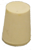 #3 rubber stopper solid
