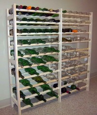 Wooden Wine Rack 120 bottles