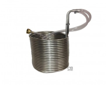 Coldbreak 50` Stainless Steel Immersion Wort Chiller