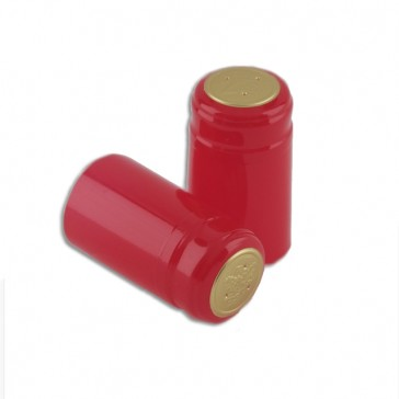 PVC Capsules - holiday red