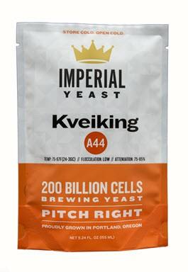 Imperial Yeast: A44 Kveiking
