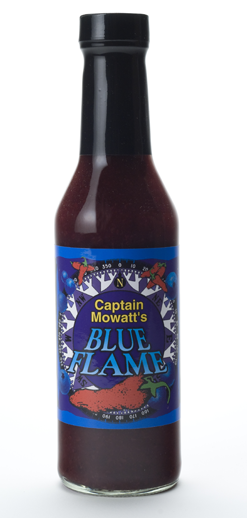 Captain Mowatt's Blue Flame Hot Sauce