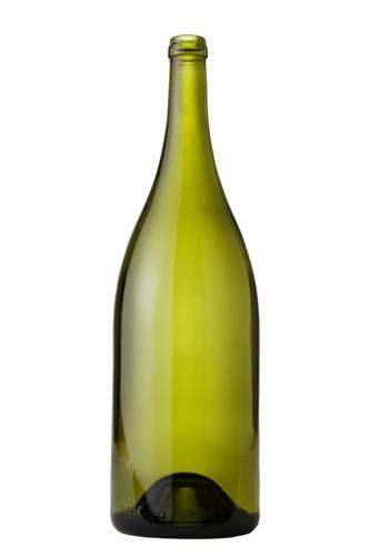 750 ml Burgundy Wine Bottles - Dead Leaf Green