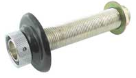 Chrome plated brass shank