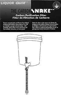 CarbonSnake Filter Replacement Carbon 500gm (approx 8 fillings)