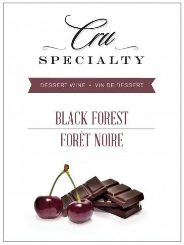 Cru Specialty Black Forest Dessert Wine Kit