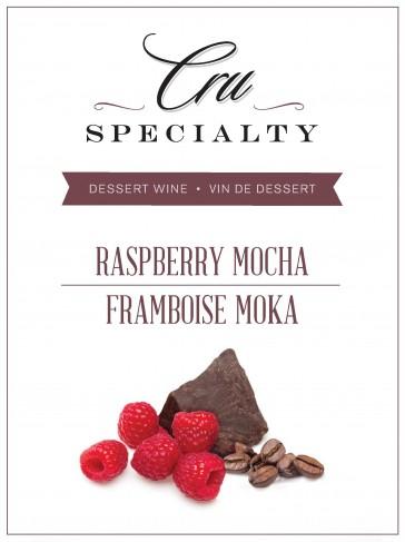 Cru Specialty Raspberry Mocha Dessert Wine Kit