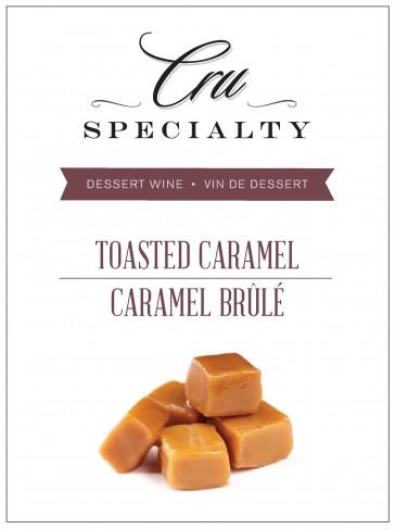 Cru Specialty Toasted Caramel Dessert Wine Kit