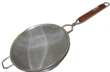 Stainless Steel Double-walled Fine Mesh Strainer