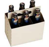 Cardboard 6 Pack Bottle Carrier