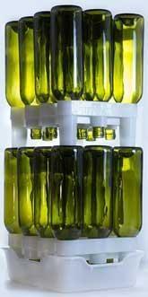 FastRack Bottle Drainer System - Wine Bottles / 22 oz. Beer Bottles