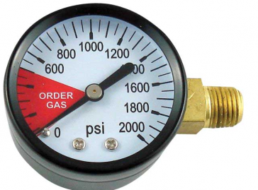 CO2 Regulator Gauge