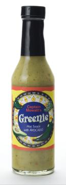 Greenie Hot Sauce - Salsa Verde Picante