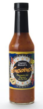 Captain Mowatt`s Luscious Pineapple/Papaya Hot Sauce
