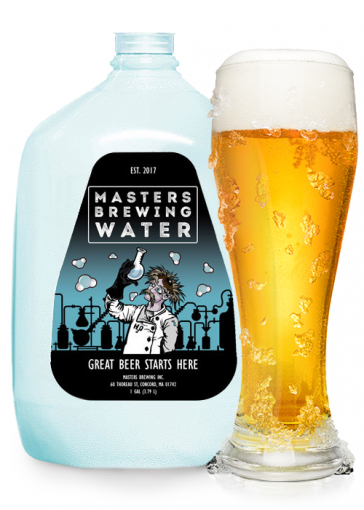 Masters Brewing Water