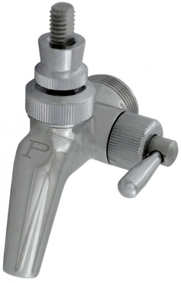 Perlick Flow Control Faucet 650SS - Beer Wine Hobby Store View