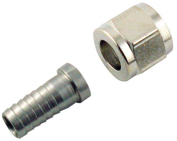 """Quick disconnect assembly 1/4"""" x 3/8"""" barb"""