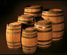 French Oak Recoopered Barrels