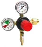 Regulator with check valve