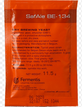 Safale BE-134 Dry Ale Yeast