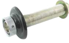 Shank with flange