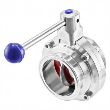 Tri-Clamp Butterfly Valve with Pull Trigger