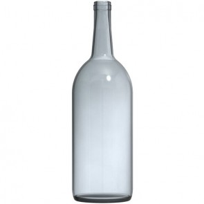 1.5 Liter Clear Bordeaux Magnum Wine Bottles