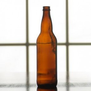 Crown Cap Beer Bottles - 22 Ounce   (Case of 12)