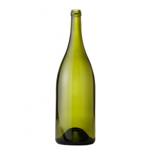750 ml Burgundy Wine Bottles - Dead Leaf Green