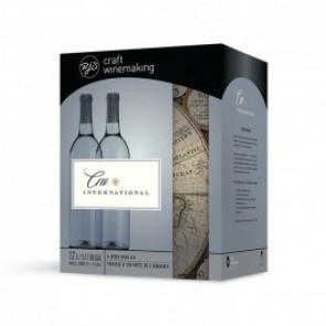 Cru International Italian Pinot Grigio White Wine Kit