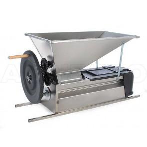 Manual Crusher/Destemmer - All Stainless Steel