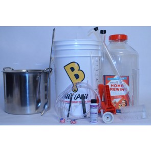 Deluxe Homebrewing Starter Kit