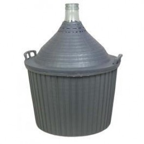 Italian Demijohn with Basket 14.3 gallon/54 ltr.