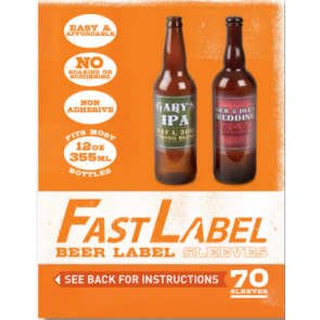 FastLabel 12 oz Beer 70 pack (12oz/355ml)
