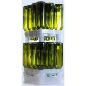 FastRack Bottle Drainer System - Wine Bottles / 22 oz. Beer Bottles