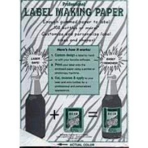 Label Paper - Plain (18 Count)