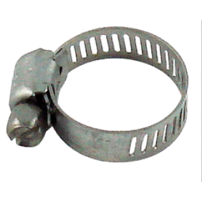 "Stainless Hose Clamp - 1/8"" to 1/2"""