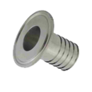 Hose Tail for Hex or Wing Nut