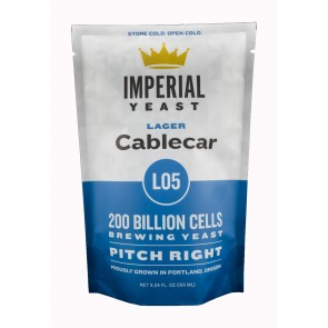 Imperial Yeast: L05 Cablecar