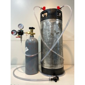 Complete Pin Lock Seltzer Water System