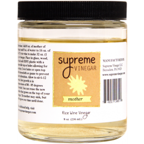 Supreme Rice Wine Vinegar Mother 8 oz.