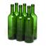 750ml Champagne Green Wine bottle