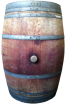 Used 53 Gallon Whisky Barrel