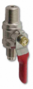 1/4&quot shutoff with check valve