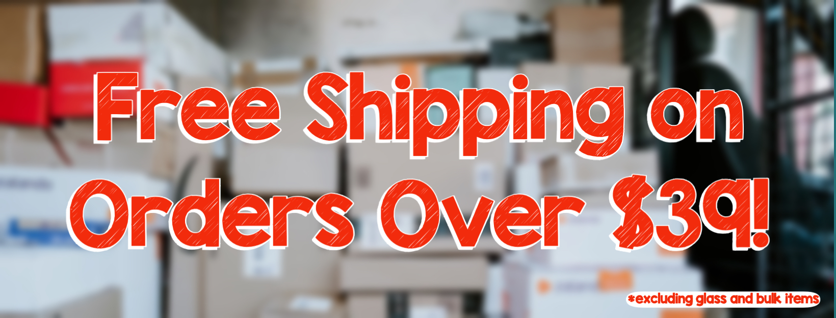 Free shipping over $39