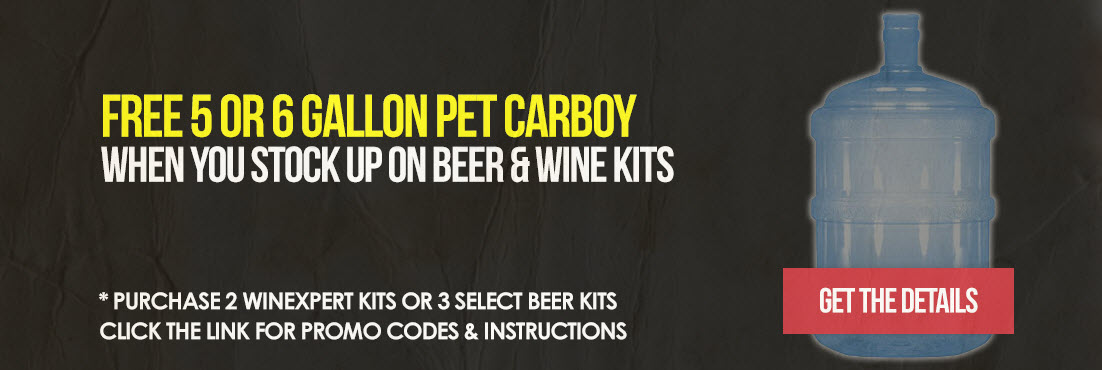 Get a Carboy with our kits