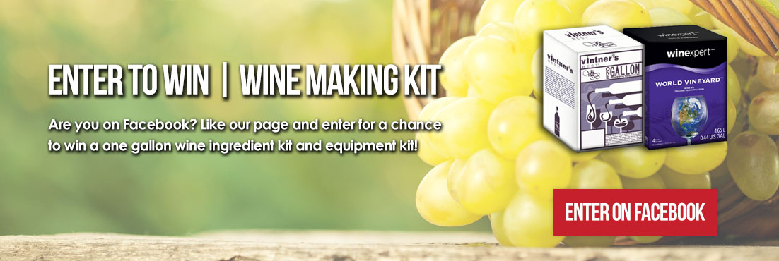 One Gallon Wine Kit Giveaway