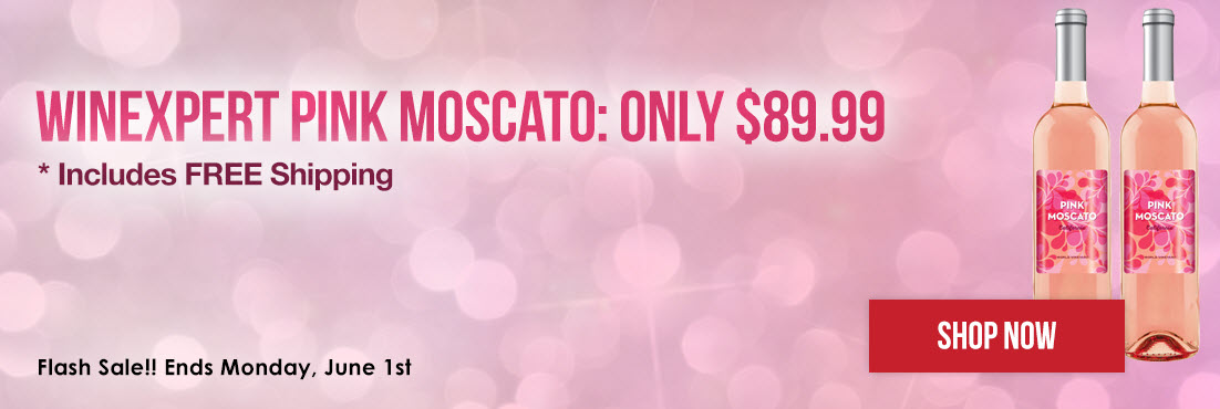 Pink Moscato Limited Edition Wine